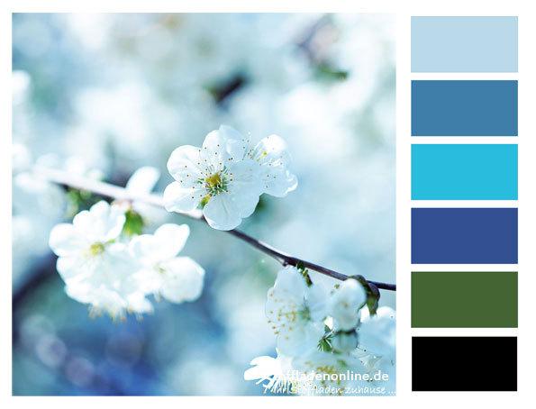 zur inspiration stoffe und farben kombinieren welche farben passen zusammen. Black Bedroom Furniture Sets. Home Design Ideas