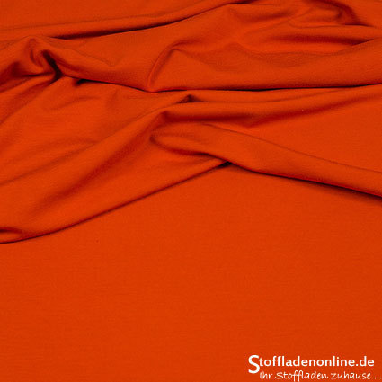 Viskose Jersey Warm Orange - Hilco