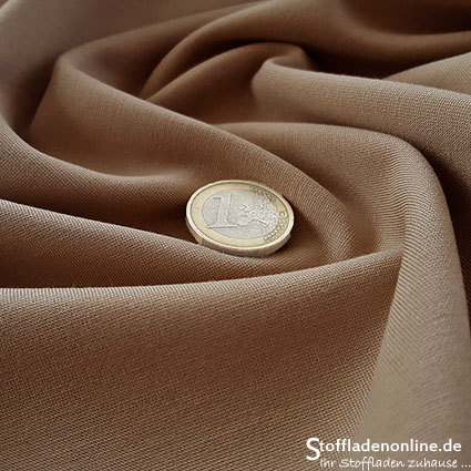 Heavy jersey fabric camel