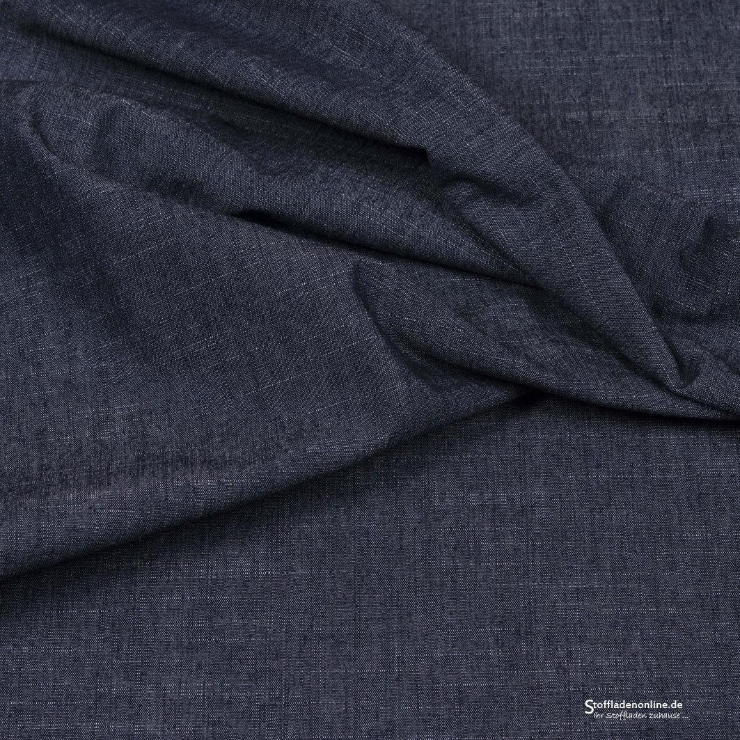 stretch jeans stoff marineblau hilco stretch jeansstoffe stoffladen online. Black Bedroom Furniture Sets. Home Design Ideas