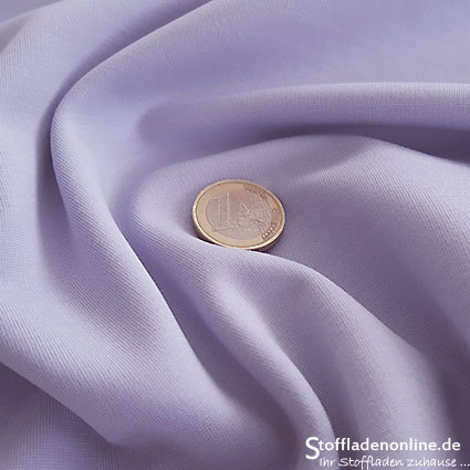 Heavy jersey fabric pastel lilac
