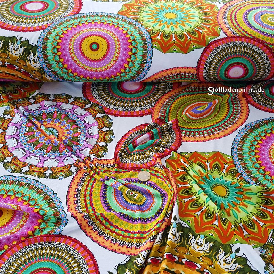 "Hilco Viskose Jersey ""Sahara""   Stoffladen online Sommer 2016"