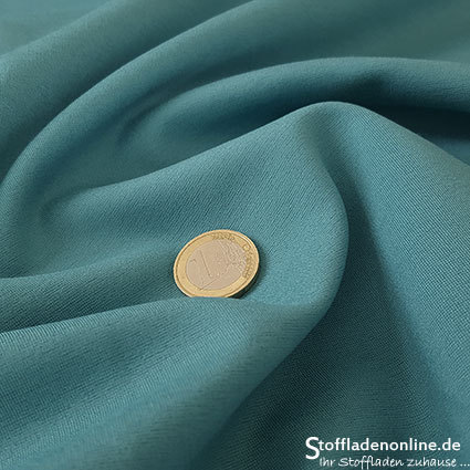 Heavy jersey fabric sea green