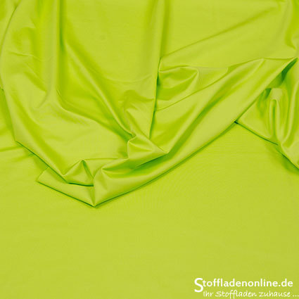 "Stretch Sport & Schwimmstoff ""Sporty Uni"" Lime - Hilco"