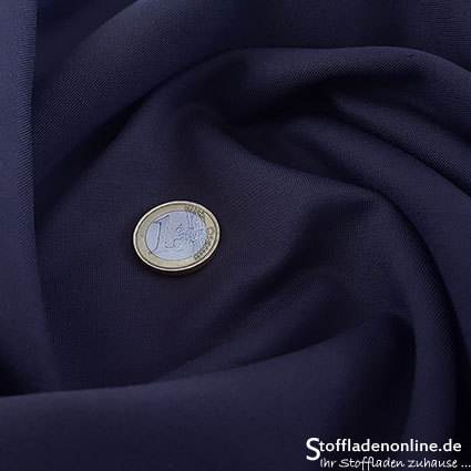 Heavy jersey fabric violet blue