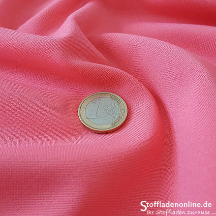 Heavy jersey fabric rose