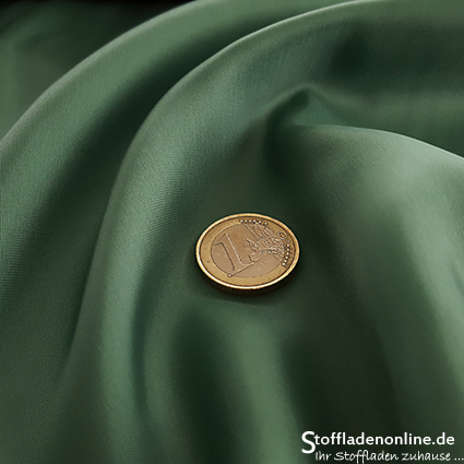 Cupro lining fabric patina green - Bemberg