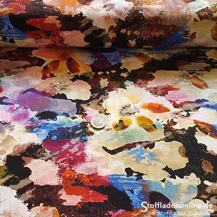"Inkjet viscose jersey fabric ""Beaumont"""