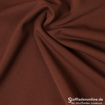 Stretch gabardine blend fabric maroon