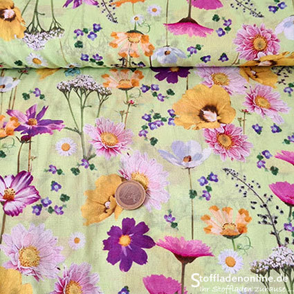 "Woven cotton batiste fabric ""Camilla"" - Hilco"