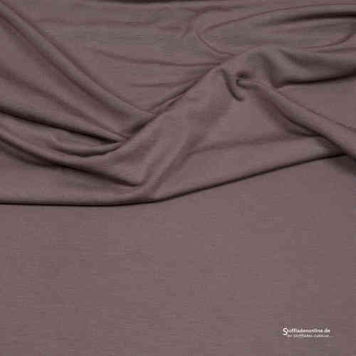 Remnant piece 125cm | Viscose jersey taupe - Hilco