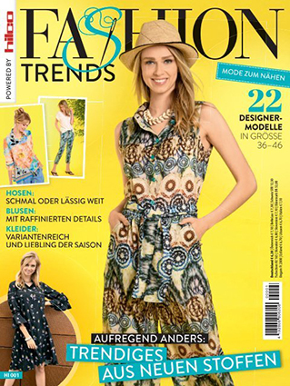 "Sewing pattern magazine ""Fashion Trends"" 