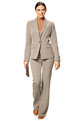 Burda Style | Sewing pattern 7284-DL | Suit gabardine fabric